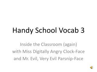 Handy School Vocab 3