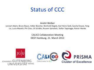 Status  of  CCC