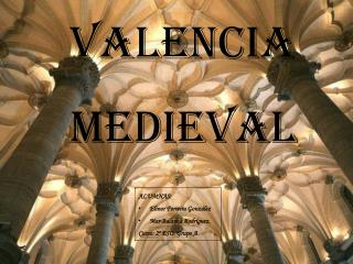 VALENCIA MEDIEVAL