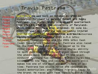 Travis Pastrana
