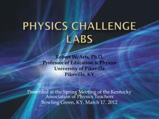 Physics Challenge Labs