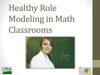 Healthy Role Modeling in Math Classrooms