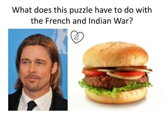 What does this puzzle have to do with the French and Indian War?