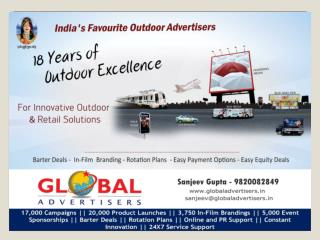 Outdoor Media House In Mumbai - Global Advertisers