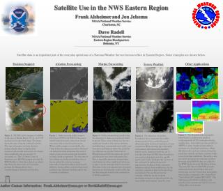 Satellite Use  in the NWS Eastern Region