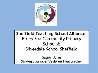 Sheffield Teaching School Alliance : Birley Spa Community Primary School &