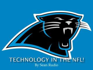 Technology in the NFL!
