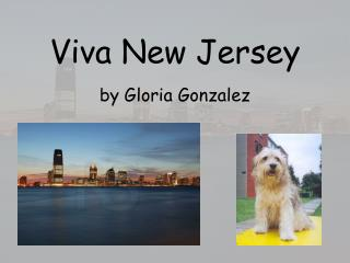 Viva New Jersey by Gloria Gonzalez