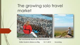 The growing solo travel market