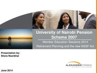 University of Nairobi Pension Scheme 2007