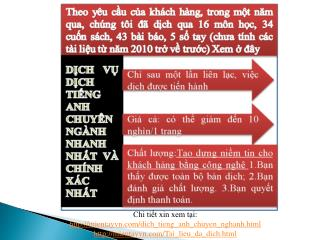 Chi tiết xin xem tại:  http :// mientayvn.com/dich_tieng_anh_chuyen_nghanh.html