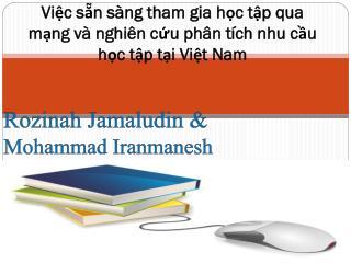 Việc sẵn sàng tham gia học  tập  qua mạng  và nghiên cứu phân tích nhu cầu học tập tại Việt Nam