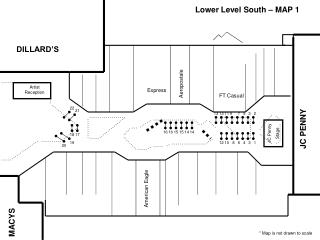 Lower Level South – MAP 1