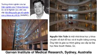 Garvan  Institute of Medical Research, Sydney, Australia