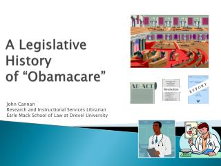 "A Legislative History  of "" Obamacare """