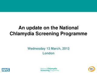 An update on the National Chlamydia Screening Programme