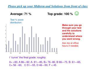 Average: 71 % Top grade:  100  %  ☺