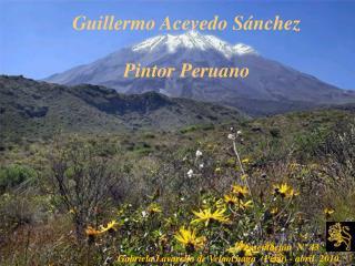 GUIILERMO ACEVEDO SANCHEZ -PINTOR PERUANO