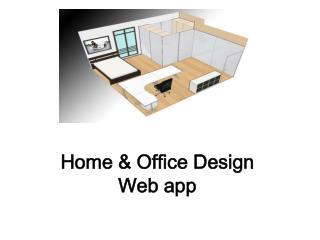Home & Office Design Web app