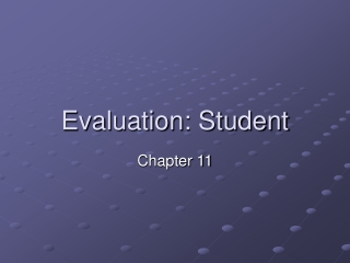 Chapter 11 Education: What Are We Learning