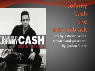 Johnny Cash  the  man in black