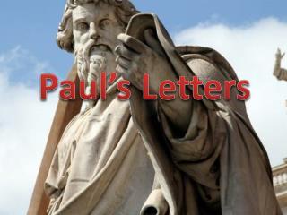 Paul�s Letters