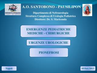 A.O.  SANTOBONO - PAUSILIPON