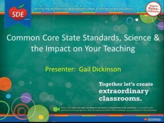 Common  Core State Standards & Science (K-6)
