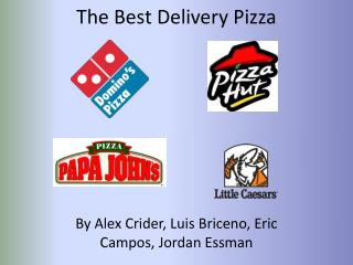 The Best Delivery Pizza