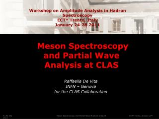 Meson Spectroscopy and Partial Wave Analysis at CLAS