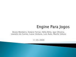 Engine Para Jogos