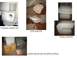 Computer speaker $15