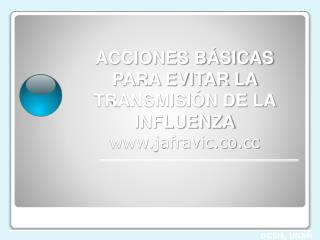 prevenci??n de influenza
