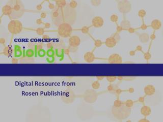 Digital Resource from Rosen Publishing