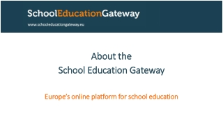 Professional Schools for Europe