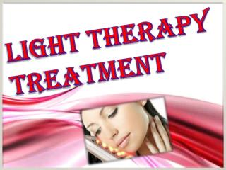 Light Therapy Treatment For Skin