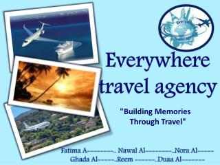 Everywhere  travel agency