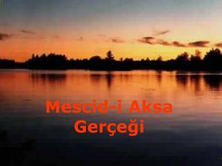Mescid-i Aksa Ger egi