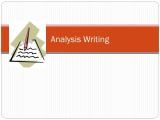 Analysis Writing