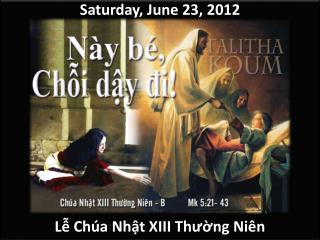 Saturday,  June 23,  2012