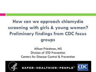Background: Chlamydia burden