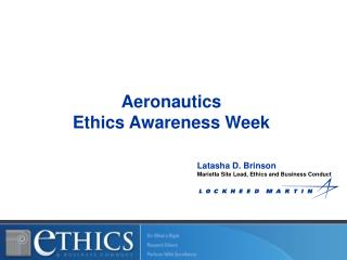 Aeronautics Ethics Awareness Week