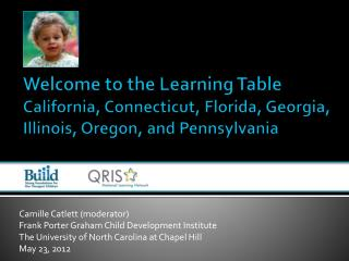 Camille Catlett (moderator) Frank Porter Graham Child Development Institute