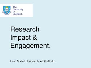 Research Impact & Engagement.