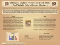 Effects of Dietary Fructose on Food Intake  And Weight Gain in Rhesus Monkeys