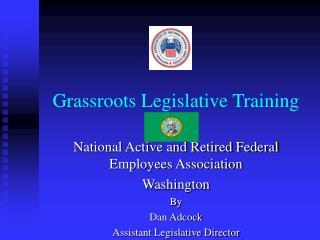 Grassroots Legislative Training