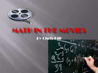 Math in the movies