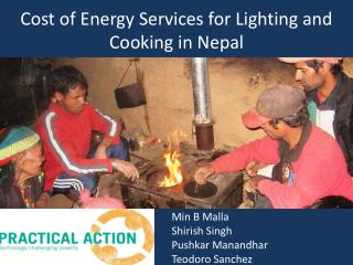 Cost of Energy Services for Lighting and Cooking in Nepal