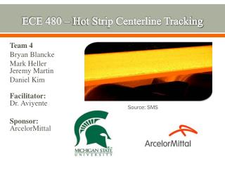 ECE 480 – Hot Strip Centerline Tracking