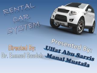 Rental Car  System